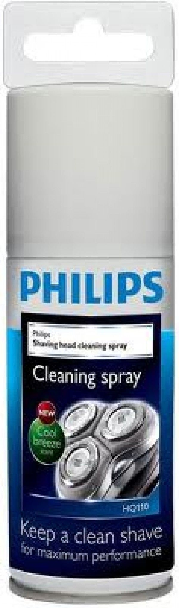 Spray limpiador cabezales afeitadora Philips