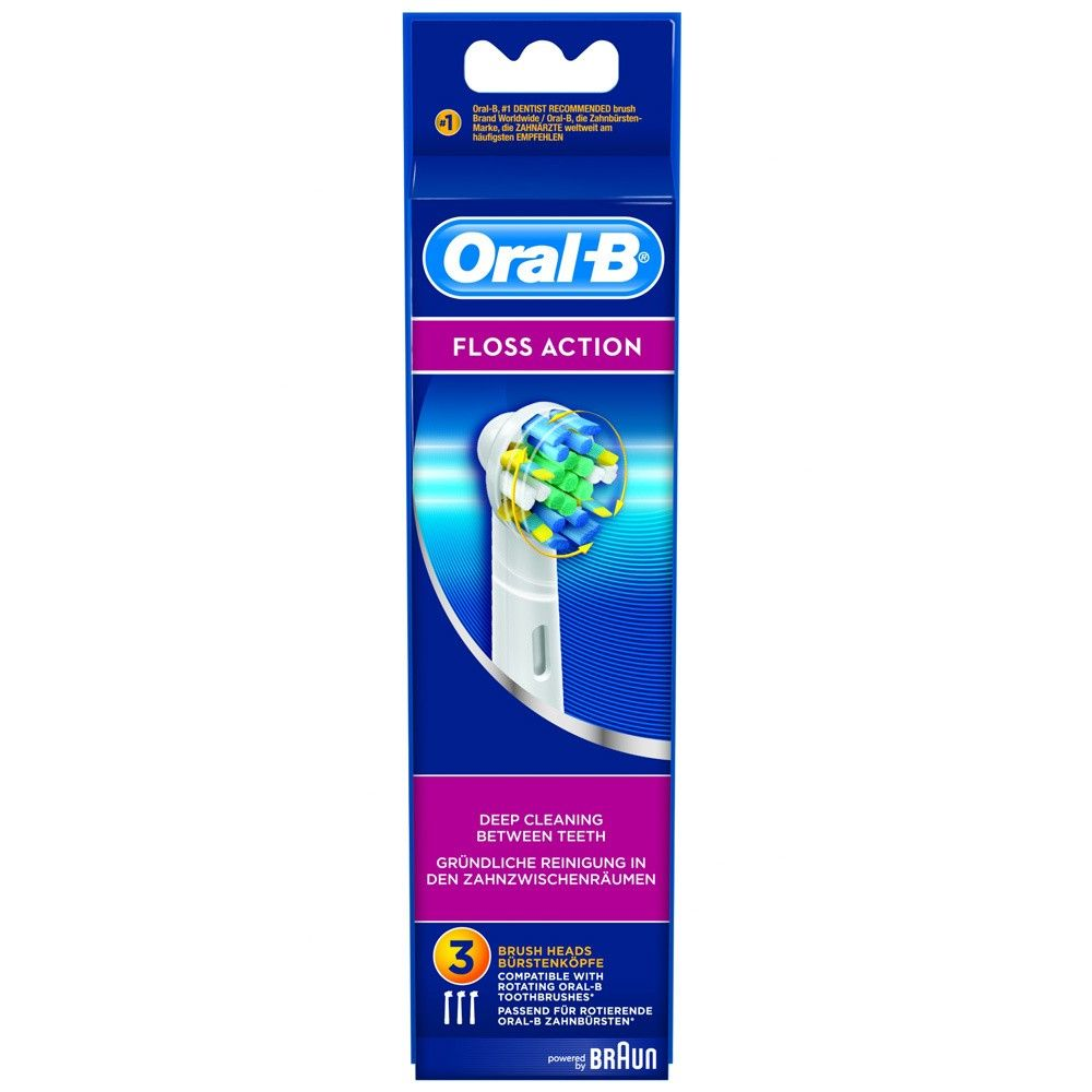 Pack 3 cepillos dental Braun Oral B-EB25 3 EURO FFS Brush Set