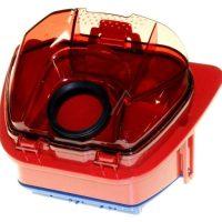 Depósito rojo con filtro aspirador Rowenta Compacteo mod. RO5353