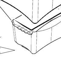 Cajón inferior congelador Zanussi ZRB38315XA