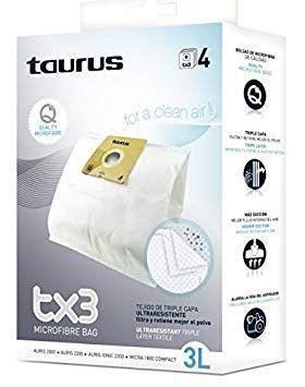 Bolsas aspirador Taurus Auris y Micra