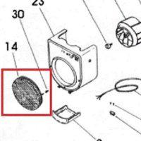 Filtro metálico extractor Soler y Palau CK60F