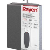 Funda de planchar metálica Rayen 51 x 127 cm con elástico