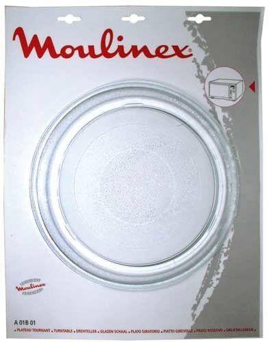 Plato microondas Moulinex 28 cms Compact, Symbio, Optiquick