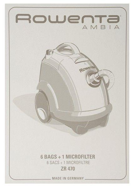Bolsas Rowenta Ambia ZR470 (6 bolsas + 1 filtro)