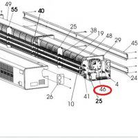 Motor derecho cortina aire Soler y Palau COR_
