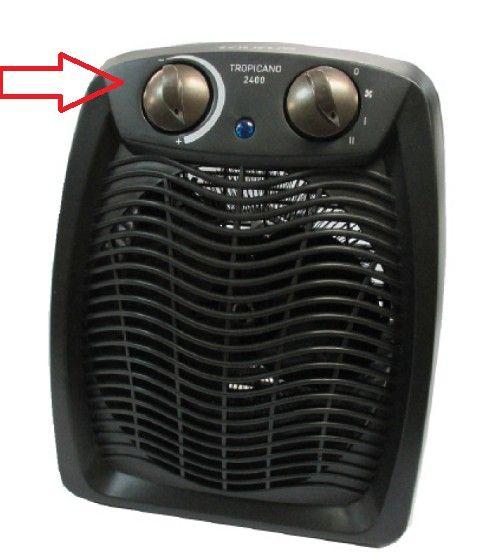 Mandos calefactor Taurus Tropicano 2400 Serie 2JC