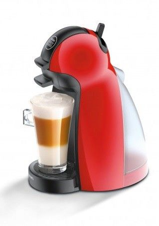 Cafetera Krups Dolce Gusto Piccolo roja KP1006