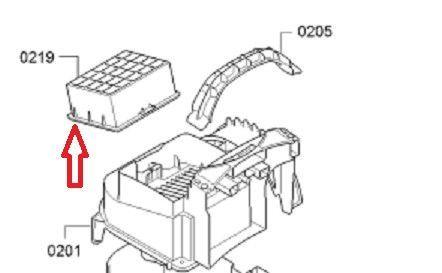 Filtro hepa aspirador Bosch y Siemens