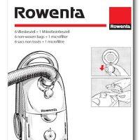 Bolsas Rowenta Dymbo 6 bolsas + 1 filtro