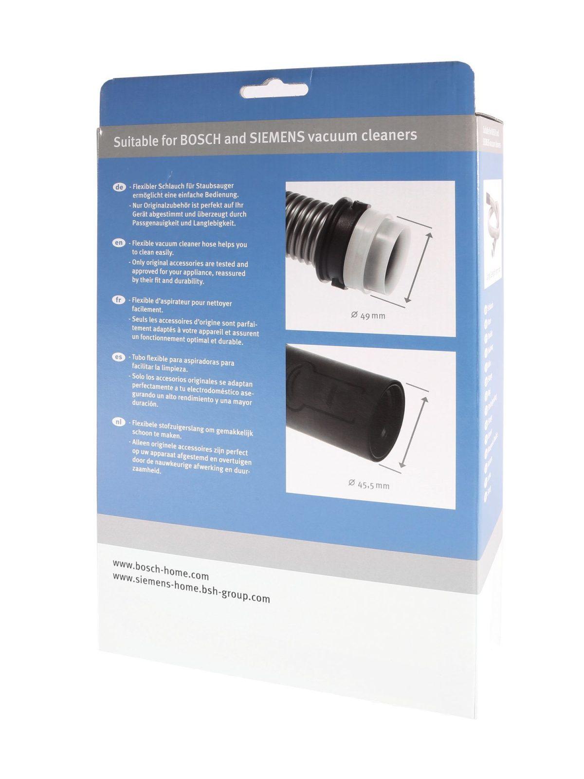 Manguera aspirador Bosch / Siemens