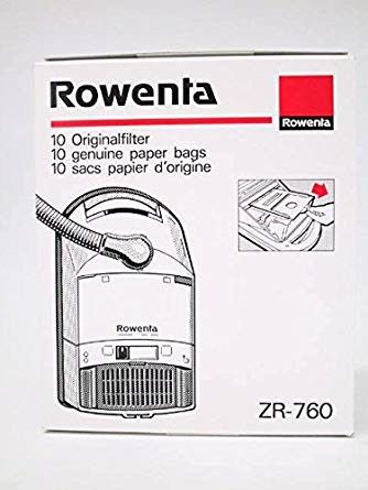 Bolsas aspirador Rowenta 10 unidades Swing, Ambia, Premio, Extrem