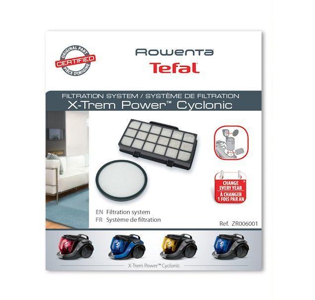 Filtro hepa Rowenta X-Trem Power y Cyclonic