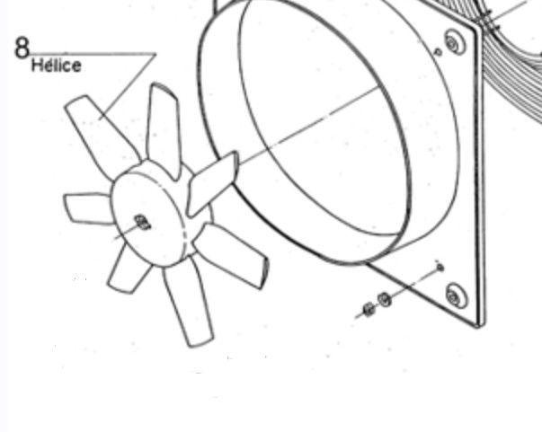 Hélice S&P HCBB/4-400 H / HCBT/4-400 H
