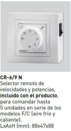 Mando control remoto S&P cortina aire