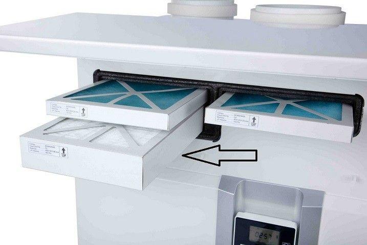 Filtro impulsion F5 S&P IDEO 325 Ecowat