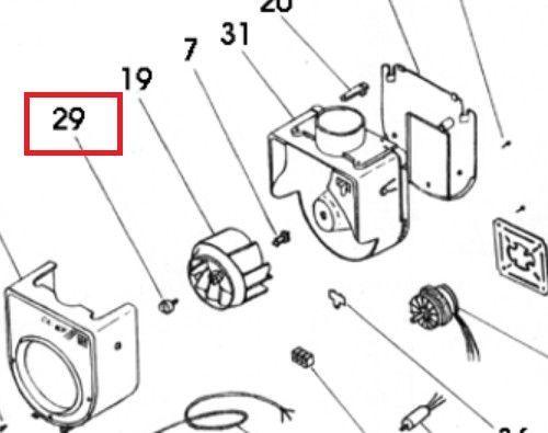 Tornillo rodete S&P CK60F