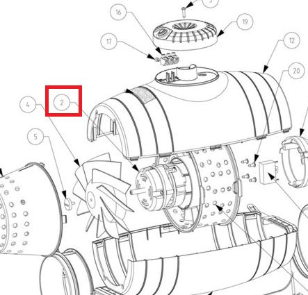 motor td350 125 silent