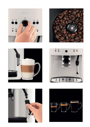cafetera krups automatica